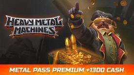 HMM Metal Pass Premium Season 4 + 1300 Cash