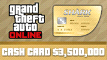 Grand Theft Auto Online Whale Shark Cash Card (PS4)