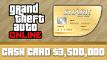 Grand Theft Auto Online Whale Shark Cash Card