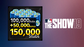 MLB THE SHOW 19 STUBS (150000)