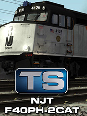 Train Simulator: NJT F40PH -2CAT Loco Add-On