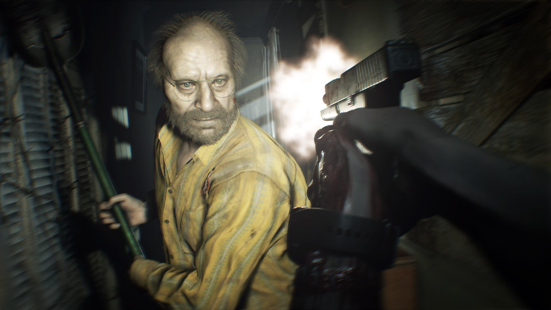 Resident Evil 7 First Person