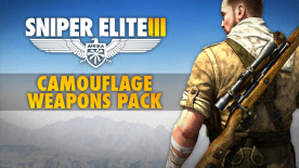 Sniper Elite III - Camouflage Weapons Pack