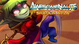 Awesomenauts - Shaolin Ayla