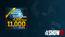 MLB® The Show™ 17 Stubs (11,000)