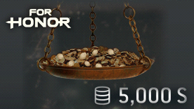 FOR HONOR 5000 STEEL Credits Pack