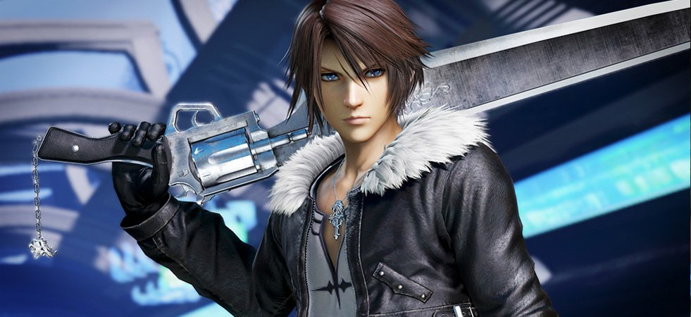 Final Fantasy Character - Squall Leonhart