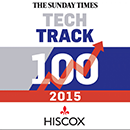 The Sunday Times Hiscox 2015 Tech Track 100