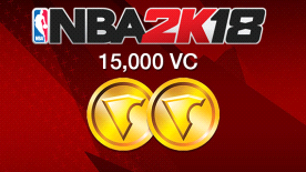NBA 2K18: 15000 VC