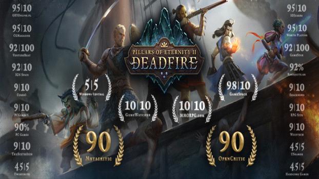 Pillars of Eternity II Deadfire Deluxe   PC - Steam   Game Keys