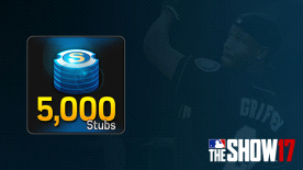 MLB® The Show™ 17 Stubs (5,000)