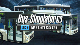 Bus Simulator 16: MAN Lion´s City CNG Pack