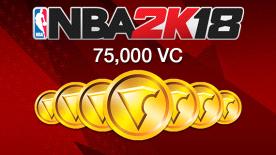 NBA 2K18: 75000 VC