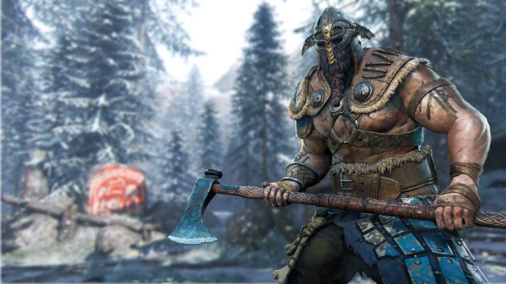 For Honor - Raider holding an axe