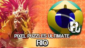 Pixel Puzzles Ultimate - Puzzle Pack: Rio