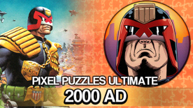 Pixel Puzzles Ultimate - 2000 AD Puzzle Pack