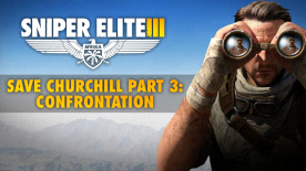 Sniper Elite III - Save Churchill Part 3: Confrontation