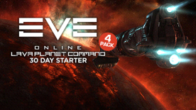 Eve Online 30 Day Starter Pack - Lava Planet Command