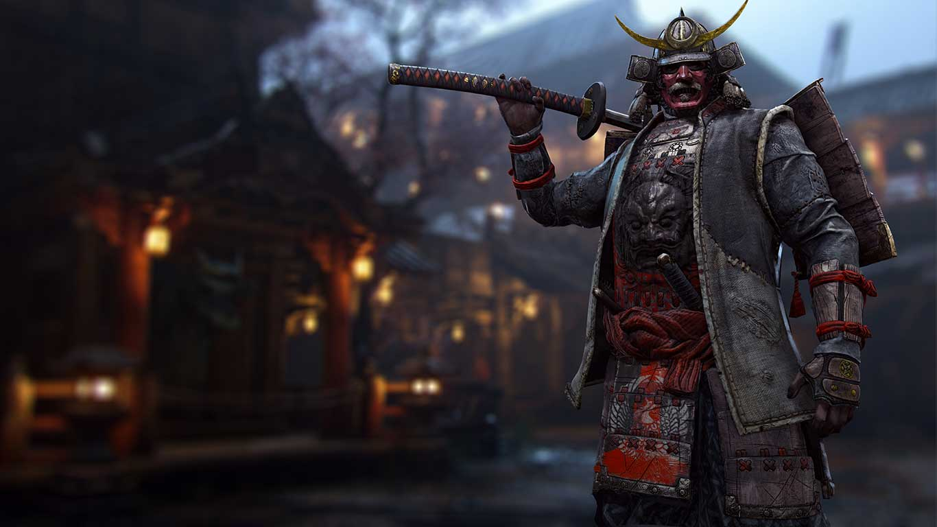 For Honor Kensei with Nodachi