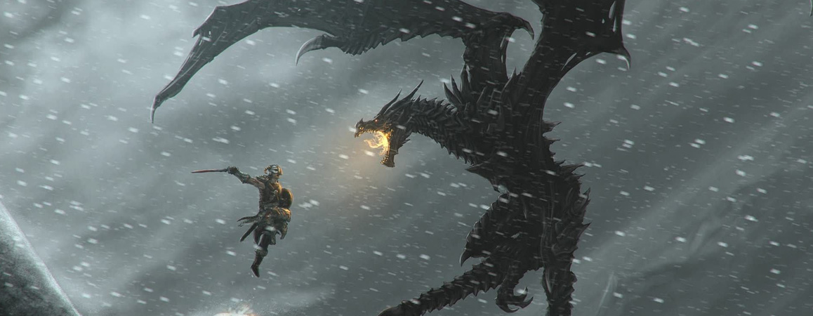 The Elder Scrolls V Skyrim Dragonborn   PC - Steam   Game Keys