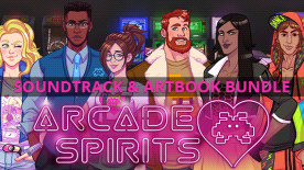 Arcade Spirits Soundtrack & Artbook Bundle