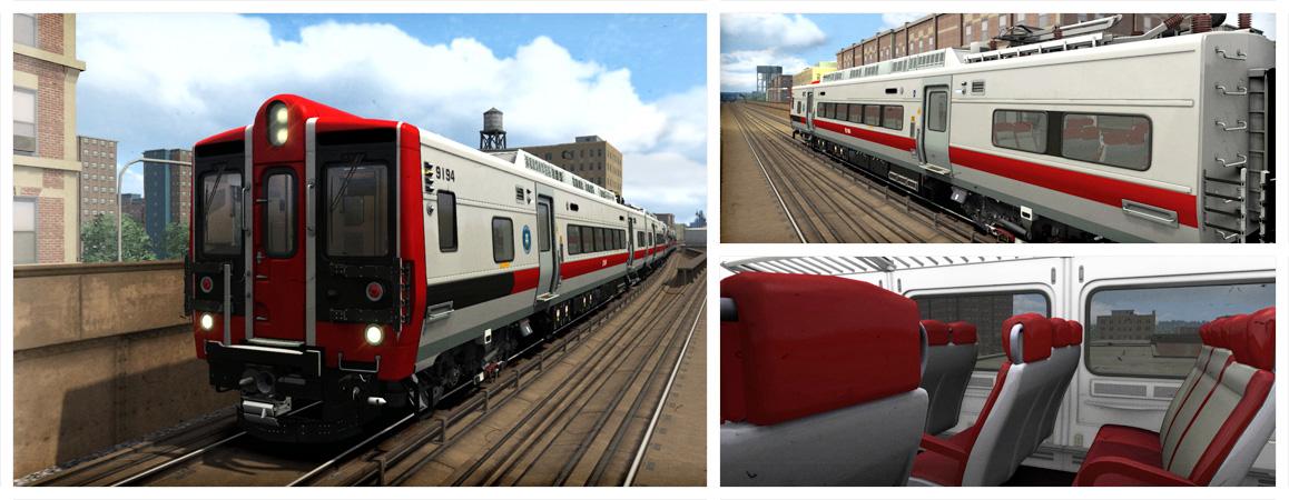 Train Simulator Metro-North Kawasaki M8 EMU Add-On | PC