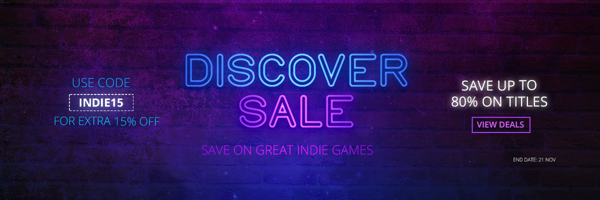 DISCOVER SALE