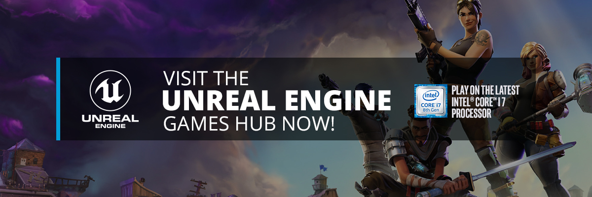Unreal Engine Games Hub