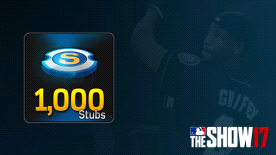 MLB® The Show™ 17 Stubs (1,000)