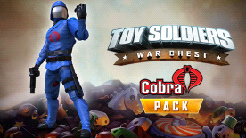 TOY SOLDIERS : WAR CHEST - COBRA PACK