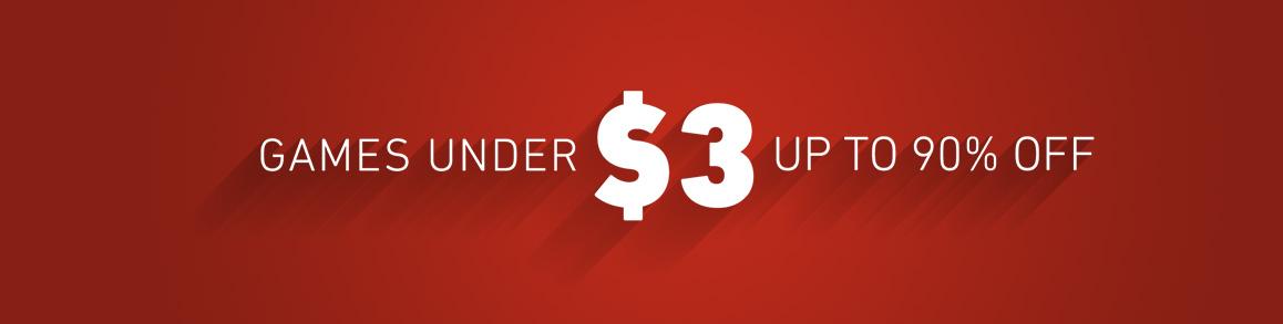 Under $3