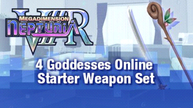Megadimension Neptunia VIIR - 4 Goddesses Online Starter Weapon Set
