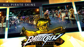 BATTLECREW Space Pirates: All Pirates Skins