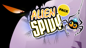 Alien Spidy Pack