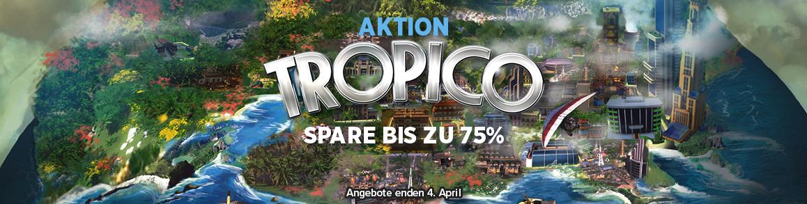 Tropico-Spiele im Angebot