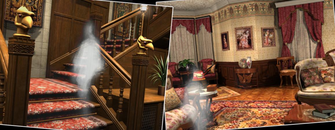 Nancy Drew Game Rooms