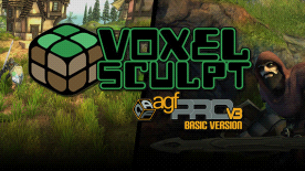 Axis Game Factory's AGFPRO - Voxel Sculpt DLC
