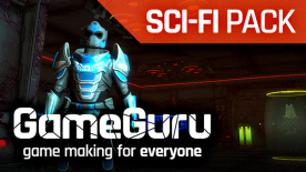 GameGuru - Sci-Fi Mission to Mars Pack