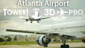 Hartsfield-Jackson Atlanta [KATL] airport for Tower!3D Pro