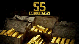 Red Dead Online: 55 Gold Bars