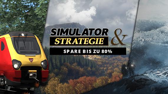 Simulator & Strategiespiele im Angebot
