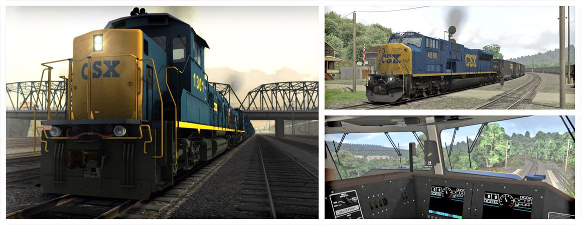 Train Simulator Csx Sd80mac Loco Add On Pc Steam