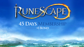 Runescape 45 Day Membership + 1 Bond