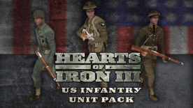 Hearts of Iron III - US Infantry Sprite Pack