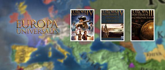 Europa Universalis Titles - up to 66%