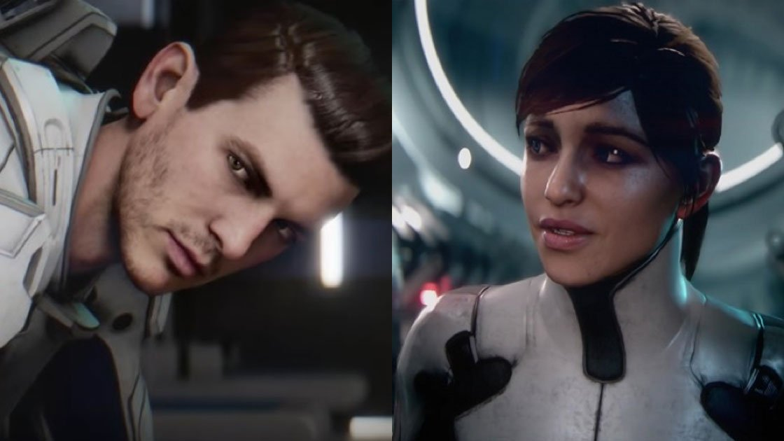 Mass Effect - Character Customisation