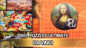 Pixel Puzzles Ultimate - Da Vinci Puzzle Pack