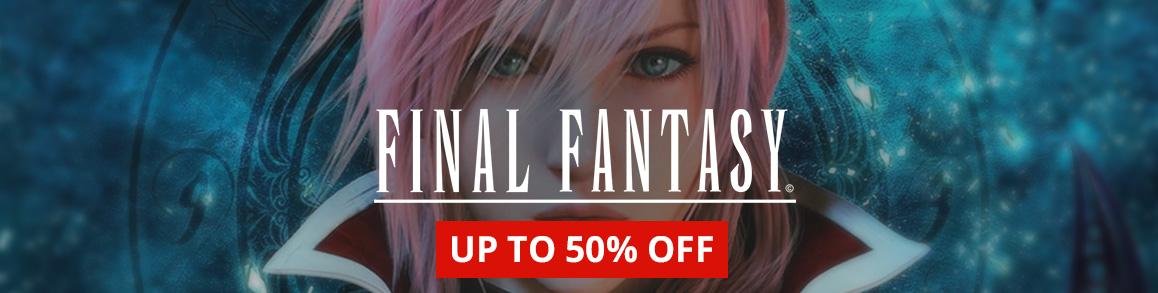Final Fantasy sale!