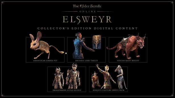 The Elder Scrolls Online: Elsweyr Digital Collector's Edition
