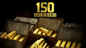Red Dead Online: 150 Gold Bars